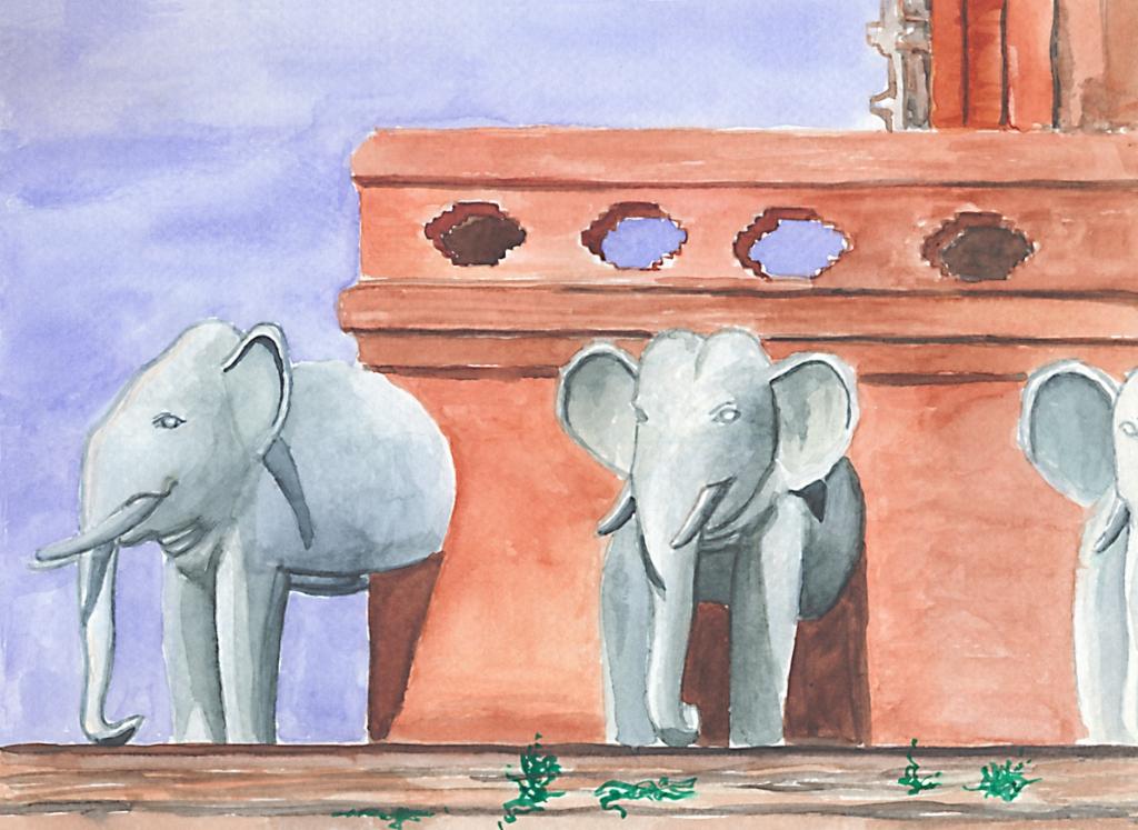 Chiang-Mai-Elefanten-tempel