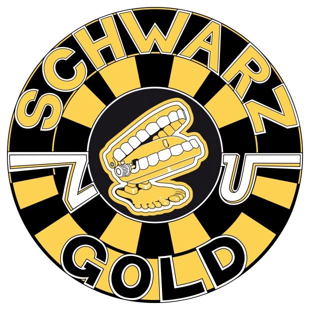 Schwarz zu Gold Logo