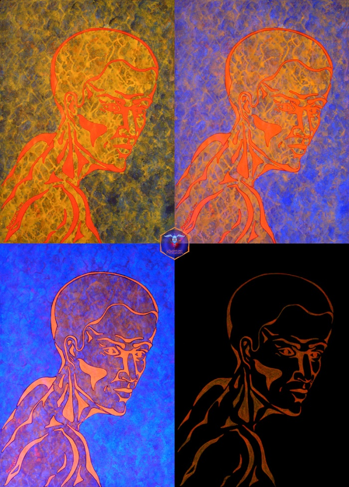 Porträt-androgyna