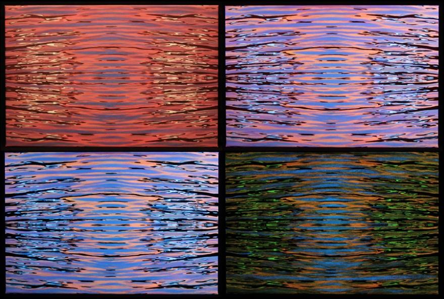 Blacklight Dynamic Paintings-Neue Arbeiten/New Work