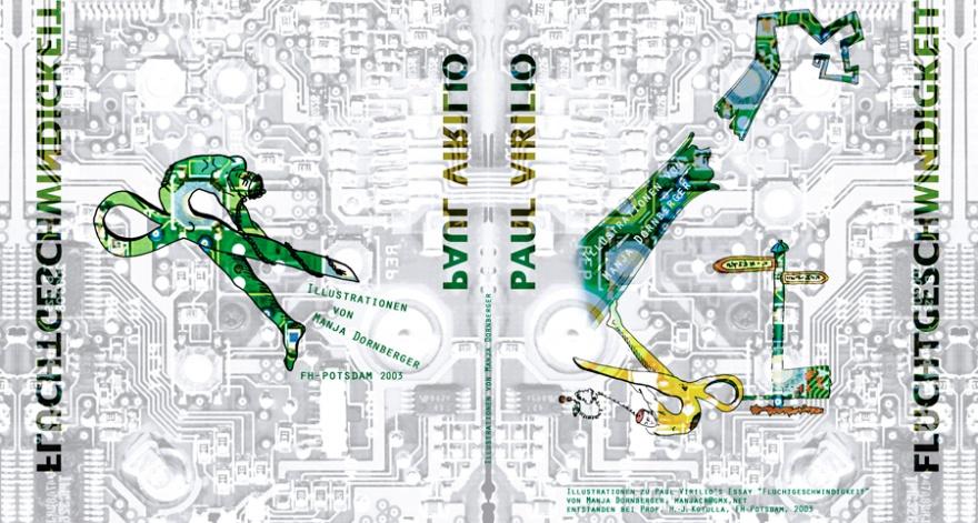 Fluchtgeschwindigkeit-Illustrationen, Buchumschlag